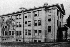 A photo of the dormitory