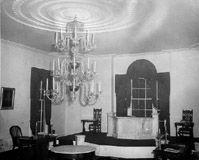 Interior view of Philanthropic Hall