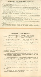 scan of the list of rules