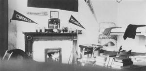 Image 1: Photograph of Davidson Dorm Room, 1921. Photograph Collection , number 93156. Davidson College Archives, Davidson College, NC.