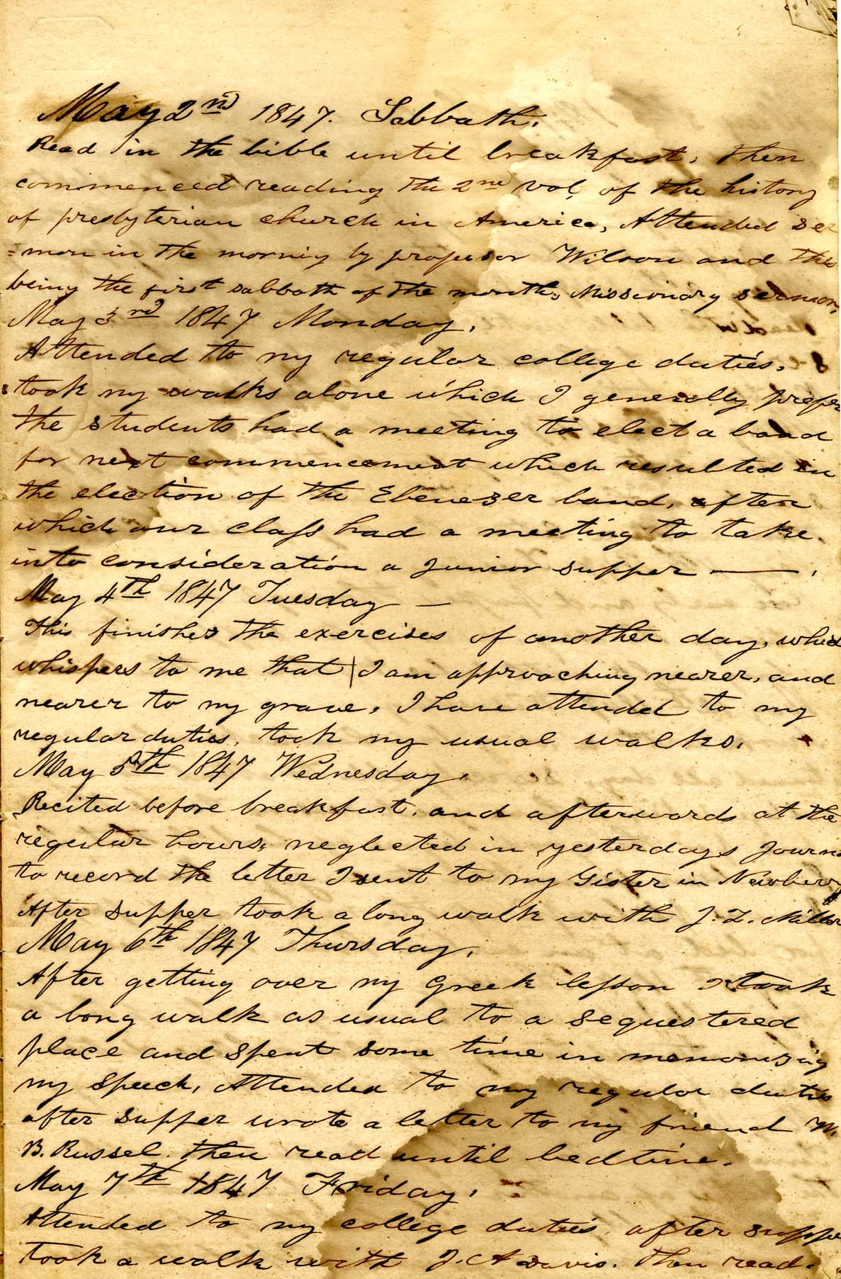 James Diary p.5