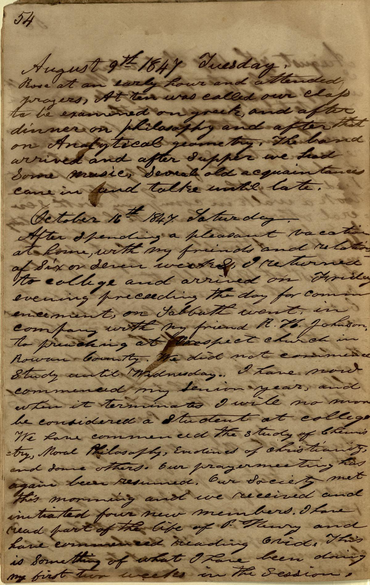 James Diary p.22