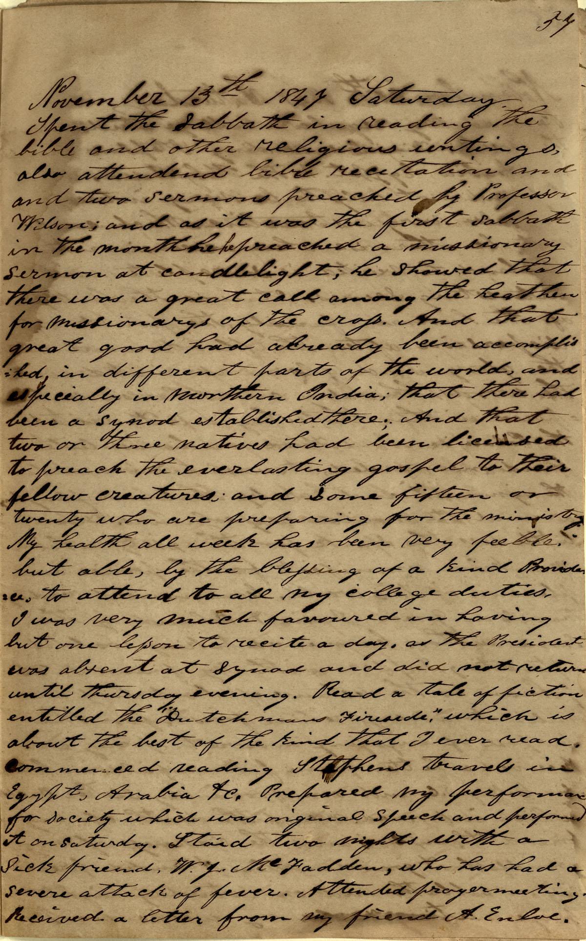 James Diary p.25