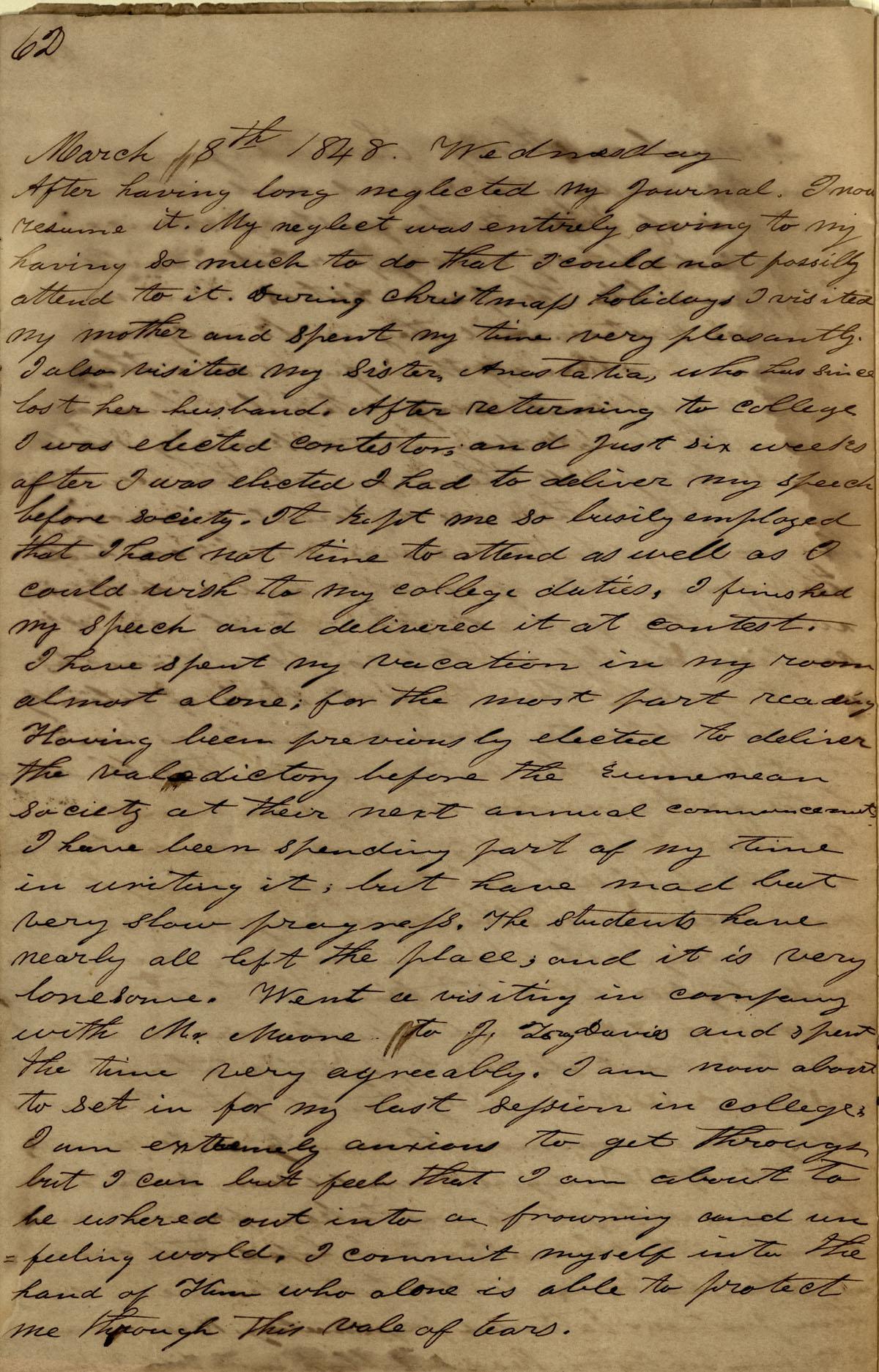 James Diary p.30