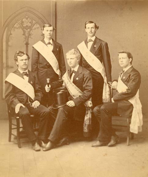 1873 Commencement Marshals (11-0133)