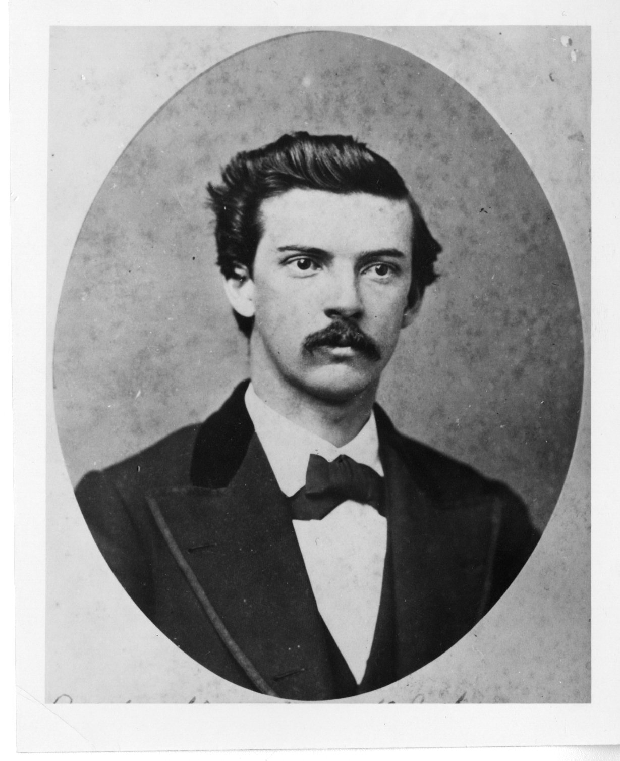 Photo of Alfred James Morrison taken in 1876.