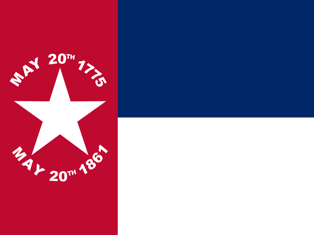 NC Flag 1861. Courtesy of NSTATE.