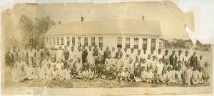 Students at the Davidson Colored School