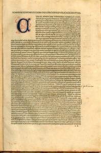 Somnium Scipionis ex Ciceronis libro de republica excerptum. / Macrobius, Ambrosius Aurelius Theodosius. Venice, 1492.