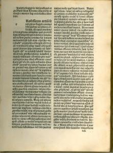"""Vita [et}processus Sancti Thome Cantuariensis martyris super libertate ecclesiastica. I[m]pressa fuit Parisius : Per magistrum Iohannem Philippi ..., et [con]pleta anno D[omi]ni [27 Mar. 1495]""""]"""