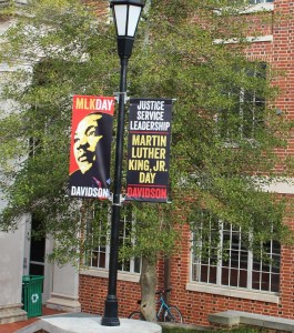 Campus Banners for MLK Day 2014
