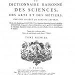 Encyclopédie; ou Dictionnaire raisonné des sciences, des arts et des métiers: 35 volume French encyclopedia published between 1751 and 1788 in Paris by Denis Diderot, writer and philosopher of the Enlightenment.