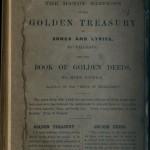 Frankenstein back cover of original paper wrappers