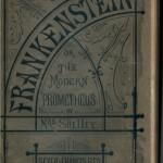 Frankenstein, cover