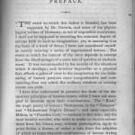 Frankenstein, original preface