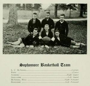 1917 Sophomore Basketball Team