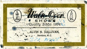 Business advertisement for A.N. Sullivan