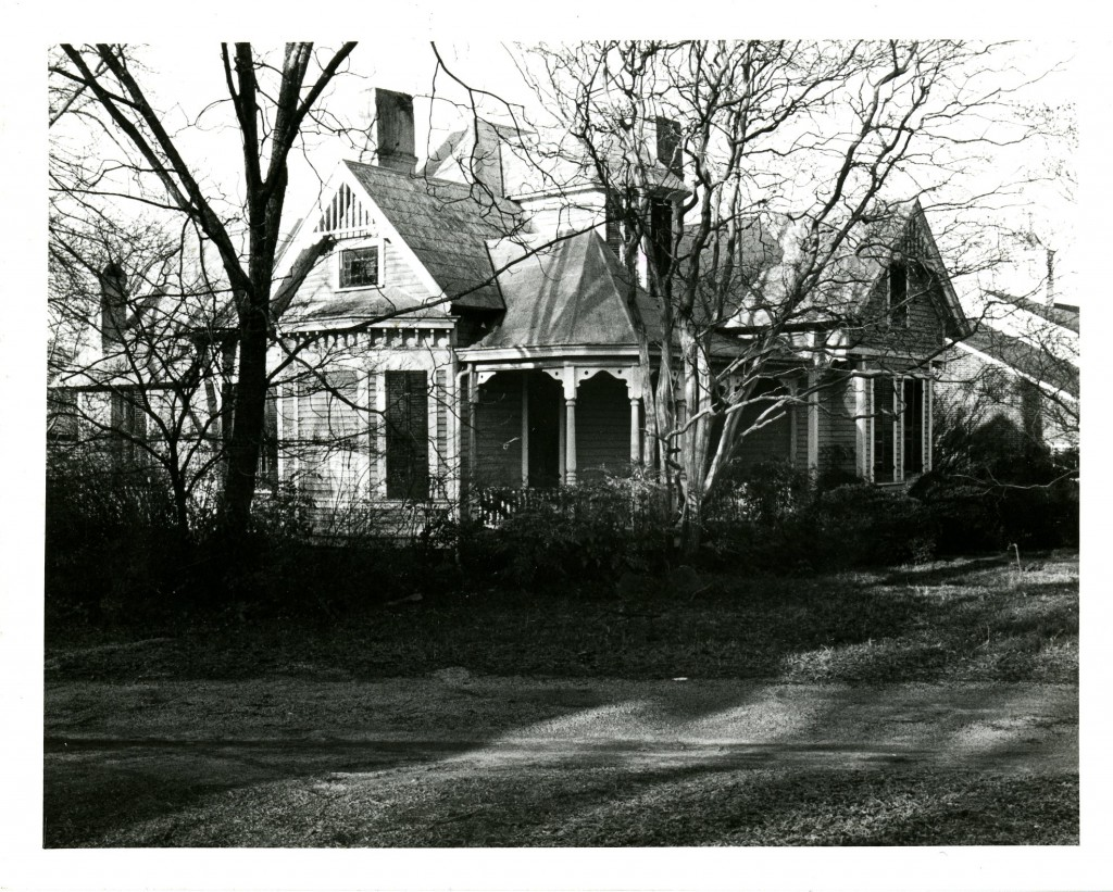 The Sloan house on South Main Street, built circa 1900 and longtime home of Louise Sloan.