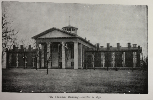 1903 Souvenir Album, The Chambers Building - Erected in 1857
