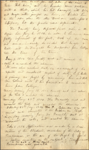 This image is a scan of the second page of the faculty minutes from December 27, 1853. The typescript appears in the main body of the posting.