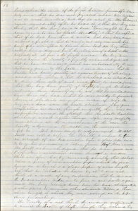 This image is a scan of the second page of faculty minutes from February 1863. The typescript is in the main body of the text.
