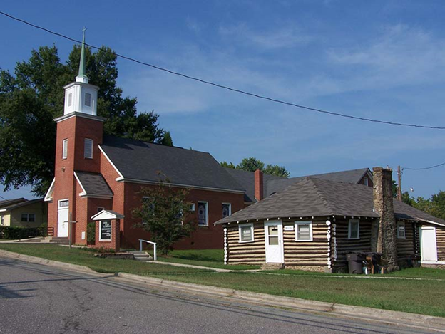 Reeves Temple AME Zion Church and Lingle Hut